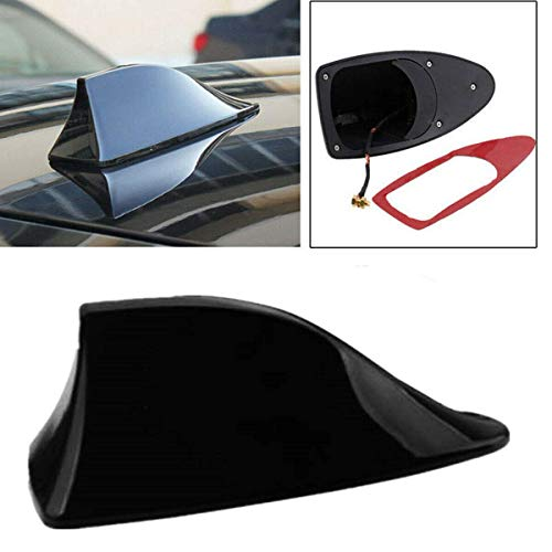 Waterproof Shark Fin Antenna Aerial Signal Decorative Antenna Auto Radio with - Decorative Shark Car Fin