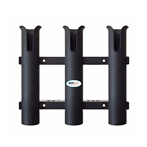 Three Rod Tournament Rack - Aolvo Tournament 3 Rack Rod Holder-Replacement Parts and Accessories for Tournament Fishing, Rod Fishing, Deep Sea Fishing and Trolling