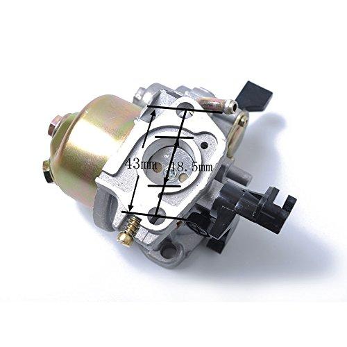 XuBa Carburador Carburador Carb para Honda GX160 GX200 Motor Carby Motor Go Kart