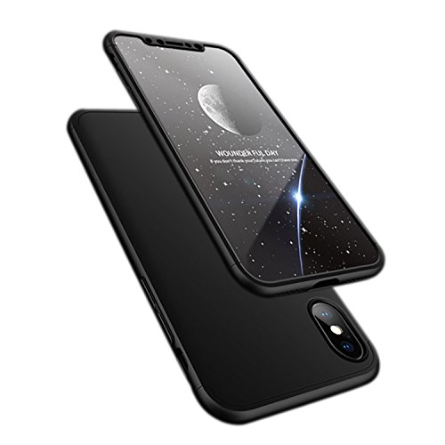 iPhone X case, ATRAING Ultra-Thin PC Hard Case Cover for Apple iPhone X (Black)
