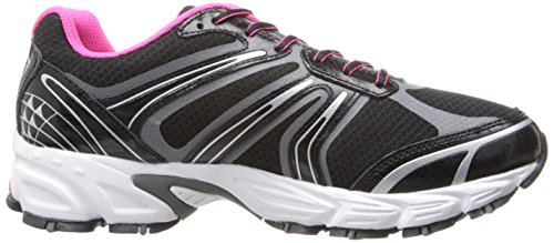 AVIA Womens Avi-Pulse Running Shoe Black/Iron Grey/Athena Pink b2YPG7WsoO