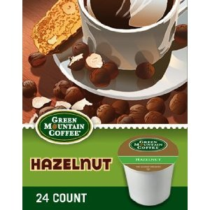 GREEN MOUNTAIN HAZELNUT K CUP COFFEE 96 COUNT