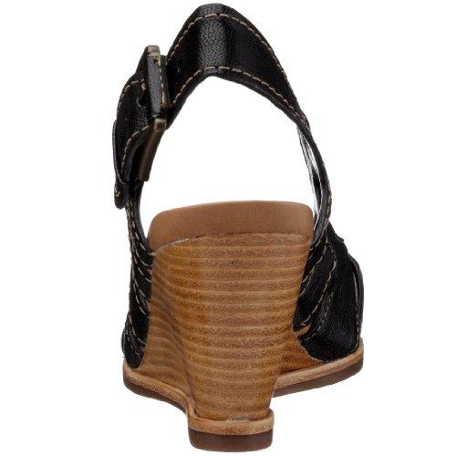 203396814080 blackleatherblack Clarks Femme Sandales Leather Schwarz Black Noir Ballot Sudbury Pqwvq4WxIf
