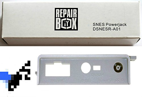 Video Game Accessories New AC Power Input for SNES Super Nintendo Console - Repair Box