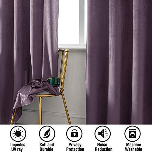 DIAOPIUO Velvet Curtains