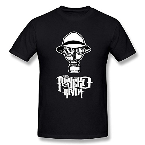 Ptshirt.com-19190-WunoD Men\'s The Psycho Realm T-shirt-B017H8M70S-T Shirt Design