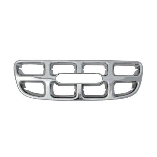 Bully  GI-07 Triple Chrome Plated ABS Snap-in Imposter Grille Overlay, 1 Piece