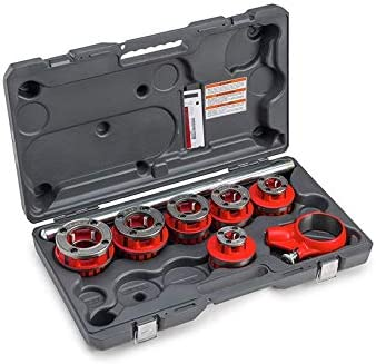 RIDGID 36475 Exposed 6 Ratchet Threader Set