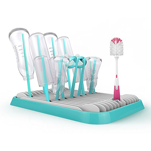 Baby Bottle Drying Rack for Toddler Sippy Cups, Bottle Nippl