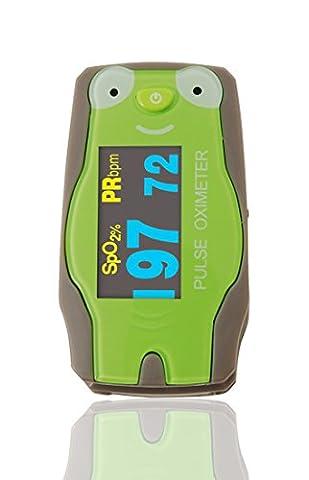ChoiceMed Green Frog Digital Finger Pulse Oximeter (Pulse Oximeter Digital)