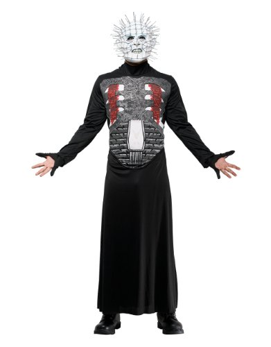 Hellraiser Men's Costume Pinhead Outfit Chest Large