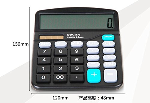 Price comparison product image Calculator Counter Solar Energy And Battery Handheld Multi-function Office Calculating Tool Business Stationery