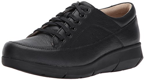 Hush Puppies Black Dasher Women's Shoes Leather Mardie rrdFOwXxqn