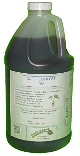 Super Compost Tea (1, 64 Oz 1/2 Gallon)