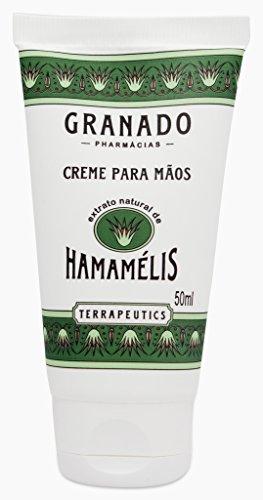 Linha Terrapeutics Granado - Creme Para Maos Hamamelis 50 ml - (Granado Terrapeutics Collection - Witch Hazel Hand Cream 1.7 Fl Oz) - Hamamelis Ointment