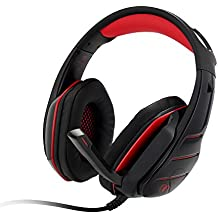PS4 Headset, PS4 Headphones, PC Gaming Headset with LED light, Over-ear Professinal Gaming Headphones with Mic 3.5mm, Christmas Gifts, Noise Reduction Bass Headsets for PC, Laptops, Tablets.