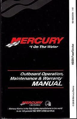 mercury 40 hp owner manual
