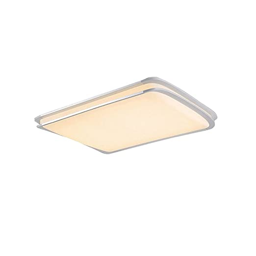 MCTECH 48W Blanco Cálido LED Lámpara de techo ámpara doble ...