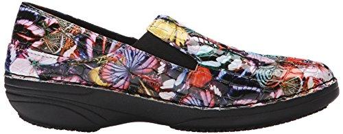 Butterfly Women's Multi Crocodile Spring Blue Ferrara Step Work Shoe w0xgFq541