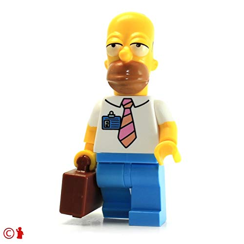 LEGO Simpsons Minifigure - Homer Simpson (Power Plant Version with Suitcase)  71006