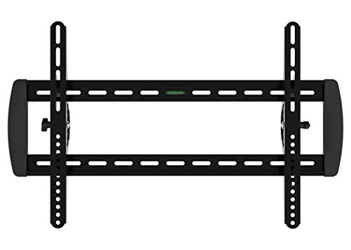 XtremPro TV Wall Mount Bracket Low-Profile Fixed Tilting ±10° for Flat Screen 32″- 55″ inch LCD, LED, 4K Plasma Flat Screen TVs Load Capacity 99 lbs – Black (41014)