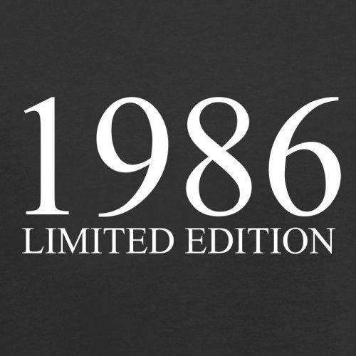 1986 Limierte Auflage / Limited Edition - 31. Geburtstag - Herren T-Shirt - Schwarz - M