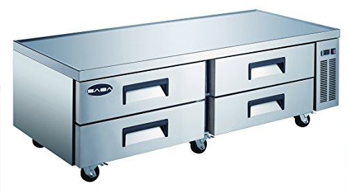 Stainless Steel Outdoor Refrigerated Drawer (SABA Heavy Duty Commercial 72