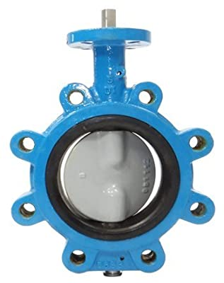 """24"""" Max-Seal Butterfly Valve Lug Ductile Iron Body Nylon Coated Ductile Iron Disc EPDM Seat Gear from Max-Seal"""