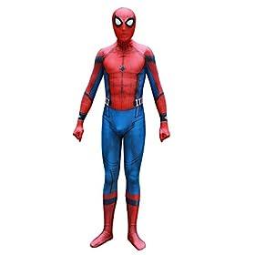 - 41SdY2eho3L - Crazycos Unisex Adult Kids Spandex 3D Zentai Suit Costume Cosplay Bodysuit Halloween
