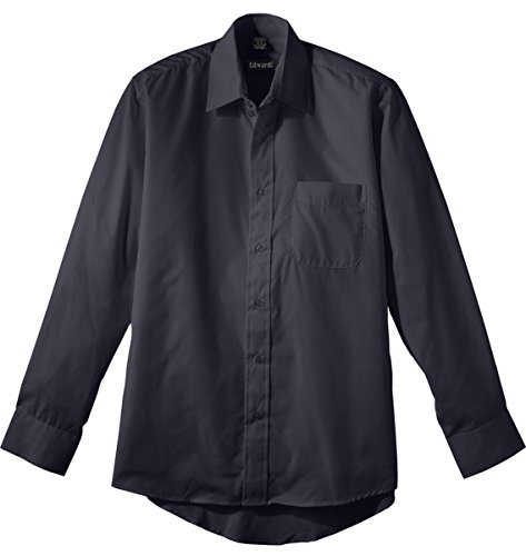 (Edwards Men'S 1363 Performance Shirt Button Down Shirt (Dark Grey 2X L 35))