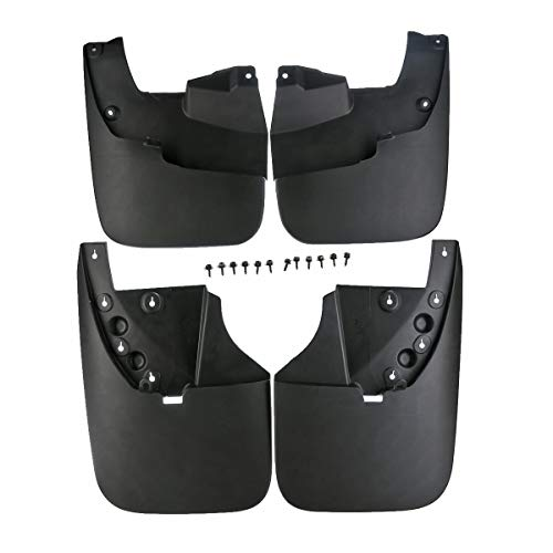 (A-Premium Splash Guards Mud Flaps Mudflaps for Toyota Tundra 2007-2013 Without Flares)