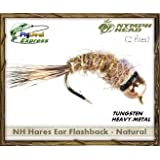 Nymph-Head Hares Ear Flashback Natural - Nymph (2-Pack)