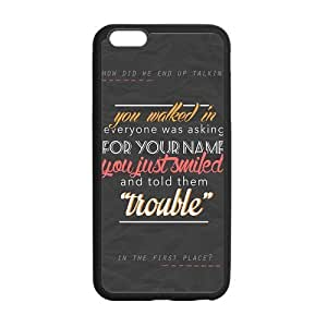 the Case Shop- 5 Seconsd Of Summer 5SOS Band iPhone 6 Plus 5.5 Inch TPU Rubber Hard Back Case Cover Skin , i6pxq-155