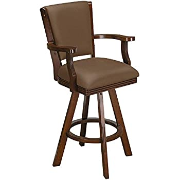 Amazon Com Game Room Bar Stool With 360 Degree Swivel In