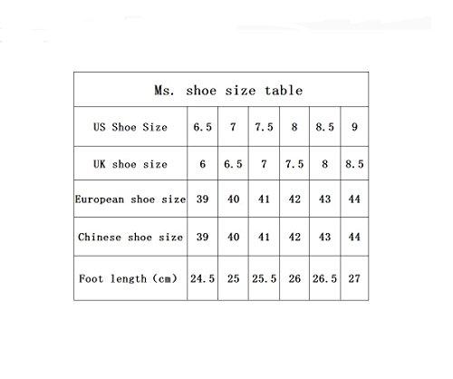 Hommes sport chaussures chaussures de course de Forrest Gump , black and white , 42