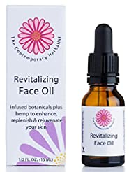 Revitalizing Face Oil with infused botan...