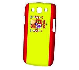 Case Fun Samsung Galaxy S3 (I9300) Case - Vogue Version - 3D Full Wrap - Flag of Spain