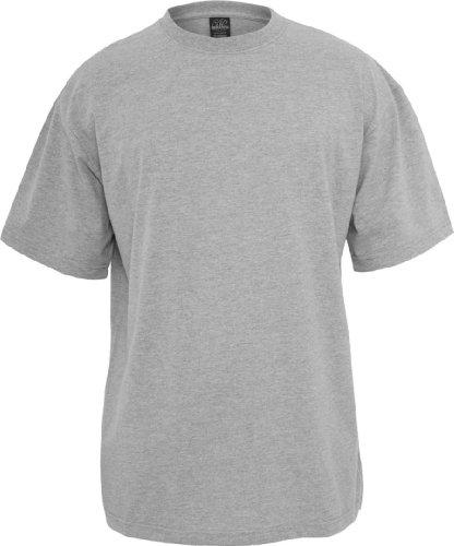 Urban Classics Herren TB006 großes T-Shirt Kurzarm T-Shirt L grau