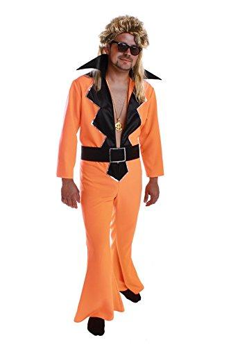 Schlagerkostum Outfit Herren Overall Disco Verkleidung Amazon De