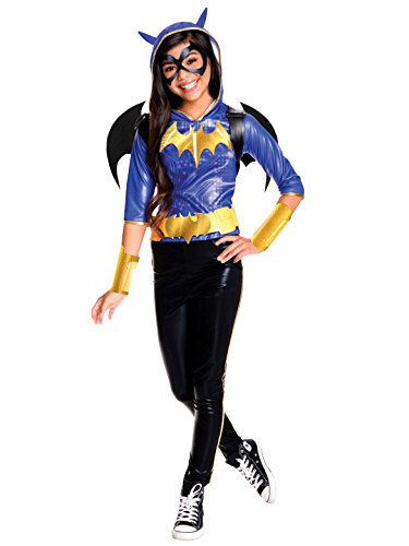 Rubie's Costume Kids DC Superhero Girls Deluxe Batgirl Costume, -