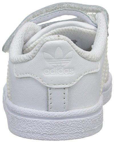 Infantile A Senakers Basso Collo Adidas White White Foundation ftwr Superstar Ftwr qYwaA6U