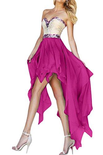 Missdressy -  Vestito  - linea ad a - Donna fucsia 40