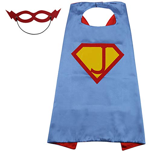 SZD Superman Cape Kids Toddler,Superman Costume Boys Girls£¬Superman Outfit Gift Blue -