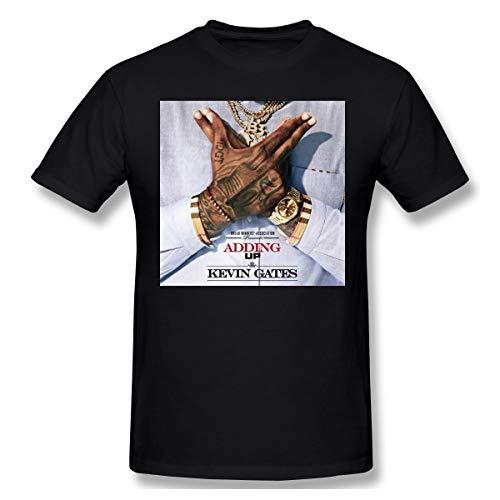Kevin Gates Adding Up Mans Unique Design Fashion T-Shirt L Black