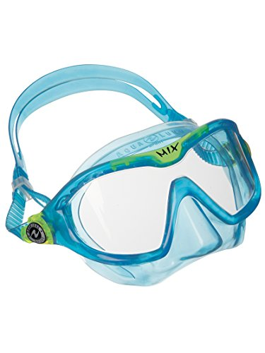 - Aqua Lung Sport Mix Junior Reef Toddler Swim & Snorkeling mask Aqua (Clear Lens)