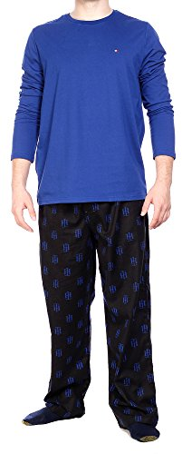 Tommy Hilfiger Men's Flannel Sleep Set, Black, Large Tommy Hilfiger Flannel