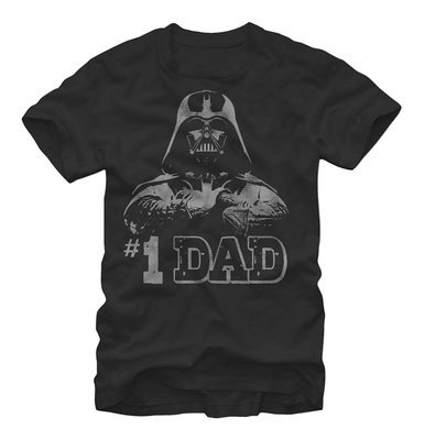 Star Wars #1 Dad Darth Vader Father's Day T-Shirt