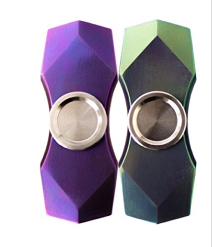 Price comparison product image Scou EDC Fidget Spinner High Speed Stainless Steel Bearing ADHD Focus Anxiety Relief Toys -Green