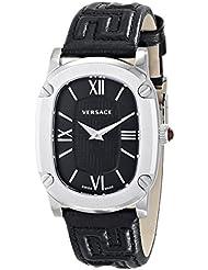 Versace Womens VNB010014 COUTURE Analog Display Swiss Quartz Black Watch