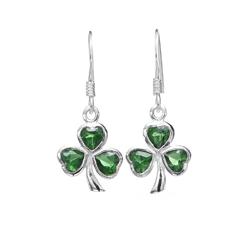 Glass Leaf Earrings - 4
